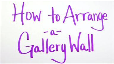 Design 101: Create a Gallery Wall