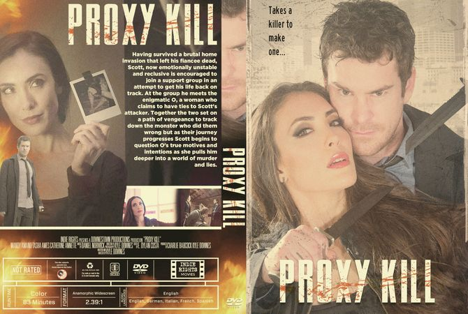 Proxy Kill 2018 Dvd Custom Cover Cover Back On Track Cover Design