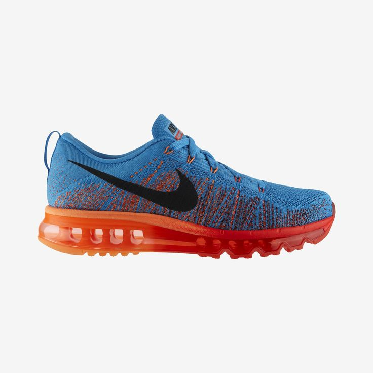 Nike Store. Nike Flyknit Air Max Men's Running Shoe