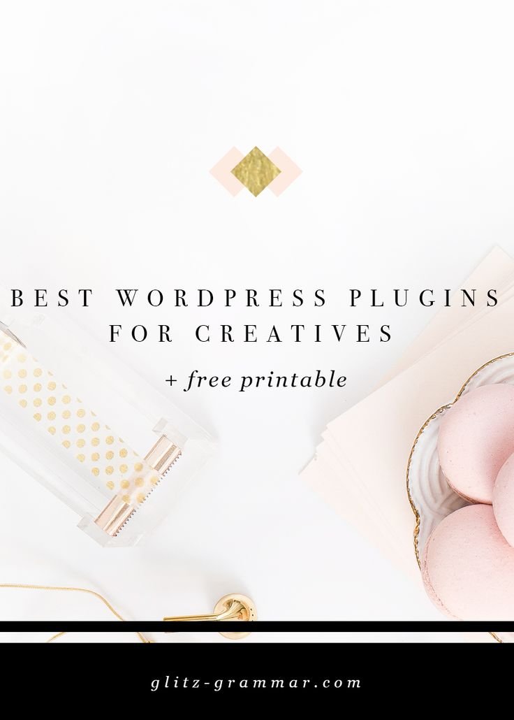 Wordpress is powerful. Don't bog your website down with too many plugins. Here are the absolute best wordpress plugins for bloggers & creative entrepreneurs