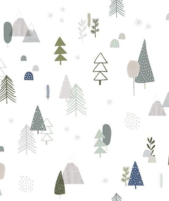 Este papel pintado estampado con motivos de árboles gris es perfecto para crear un dormitorio mágico simulando un bonito bosque encantado. El papel pintado más original y moderno ya está aquí! Este estampado dará un toque de cuento de hadas a la habita