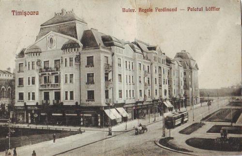 Timisoara - Palatul Loffler - 1926
