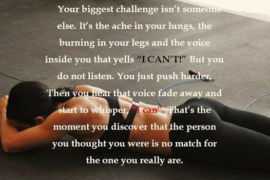 : Thoughts, Challenges, Remember This, Motivation Quotes, So True, Crossfit, Fit Motivation, The One, The Voice