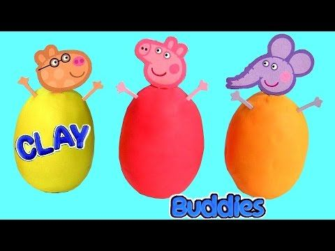 Peppa Pig Surprise Toys Surprise Toys Cups Rainbow Learn Colors in English Peppa Pig Family for Kids - YouTube