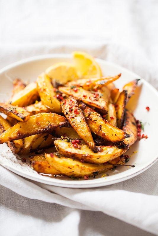hOney glazed potatoes