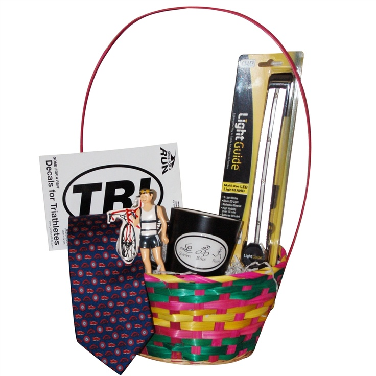 28 best easter running gifts images on pinterest running gifts triathlon easter basket guy triathlete over 50 off 3999 negle Choice Image