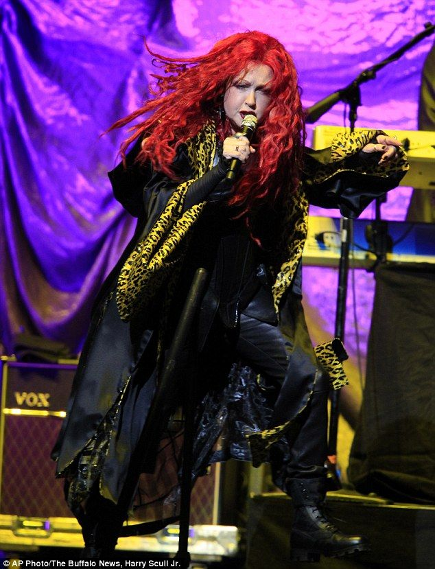 Cher's Dressed To Kill Tour opener Cyndi Lauper rocked out New York's First Niagra Center in Buffalo