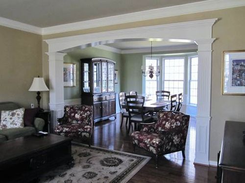 Cased Opening Trim : Best images about entry door casing on pinterest