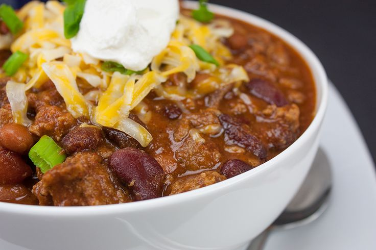 Thick & Hearty Homestyle Chili