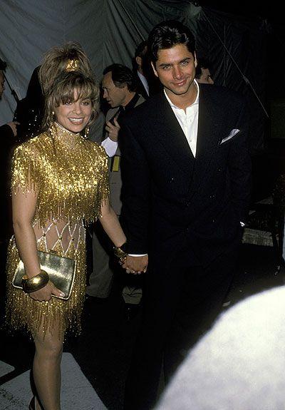 Paula Abdul & John Stamos at the 1990 Grammy Awards Can I be Paula please? :)