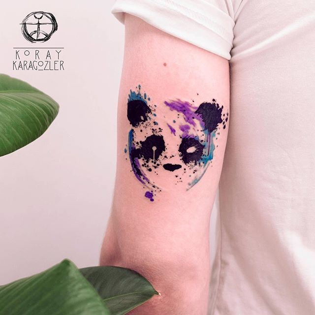 25 best ideas about panda tattoos on pinterest monkey drawing lion head tattoos and stained. Black Bedroom Furniture Sets. Home Design Ideas
