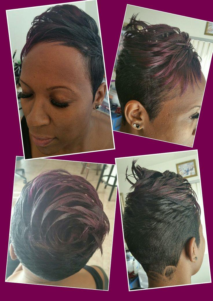 Hair creative house style