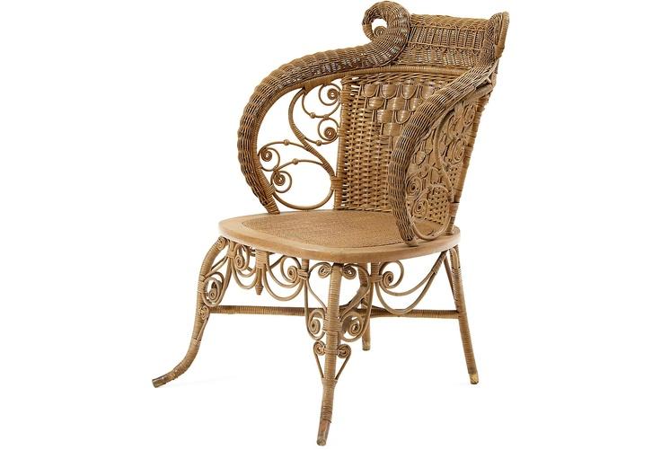 Heywood Wakefield Wicker Chair C 1890 Quot Wicker Wicker