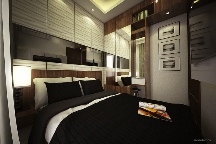 Master bedroom, apartment serpong
