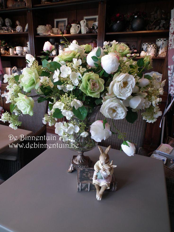 zijde boeketten , met bloemen van silk-ka