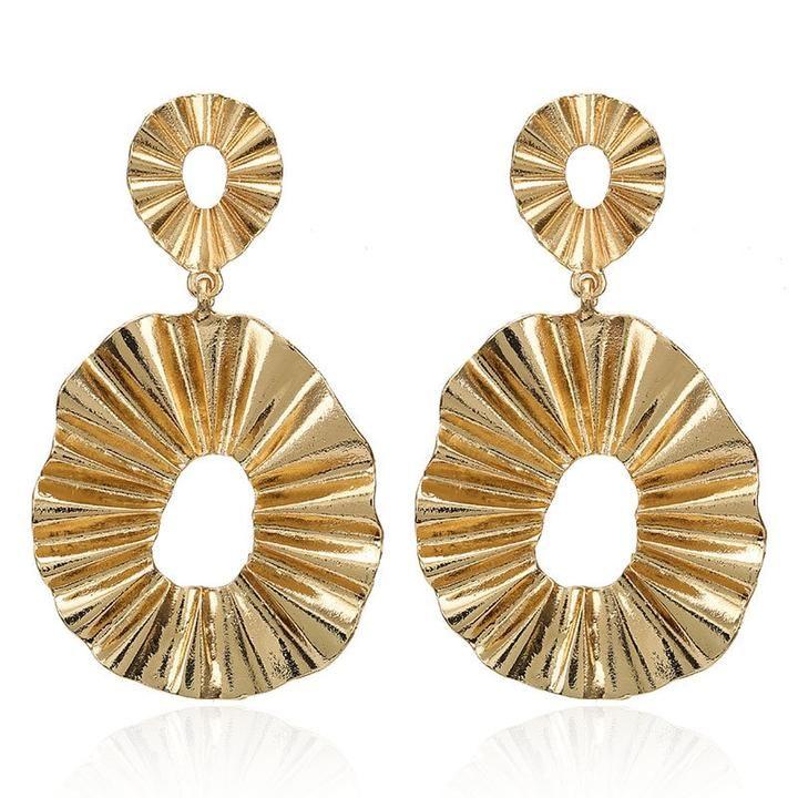 2019 Geometric Golden Hoop Earrings Trend Fashion Jewelry Paris5pm Earring Trends Fashion Jewelry Sale Drop Earrings