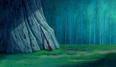 Animation Backgrounds: POCAHONTAS (1995)