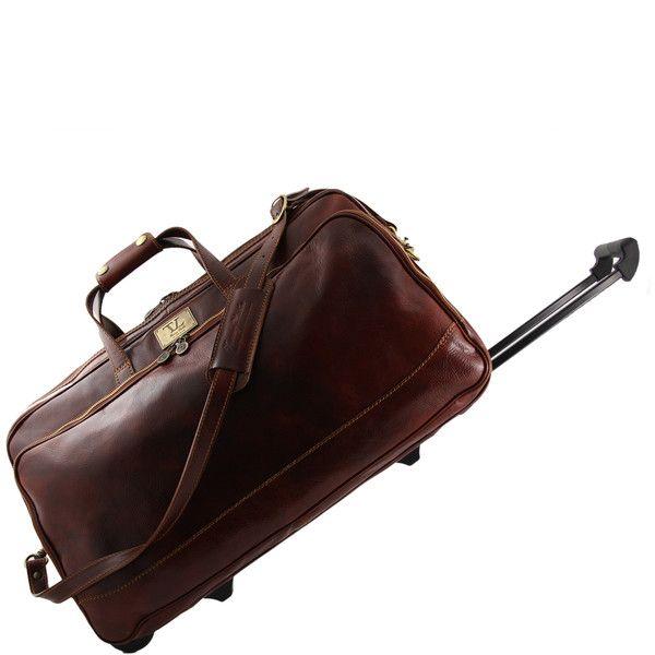 Bora Bora - Trolley leather bag - Large size