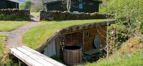 the underground sauna, ecoyoga, scotland
