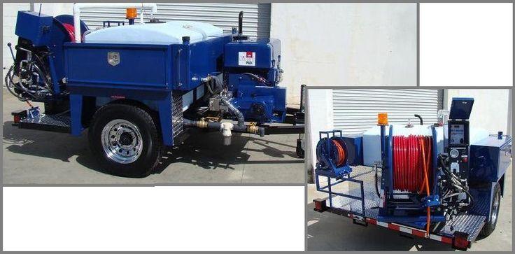 4000 PSI Jetter Units | Run-Dry Pump Unit | 325 Gallon Jetter Water Tank