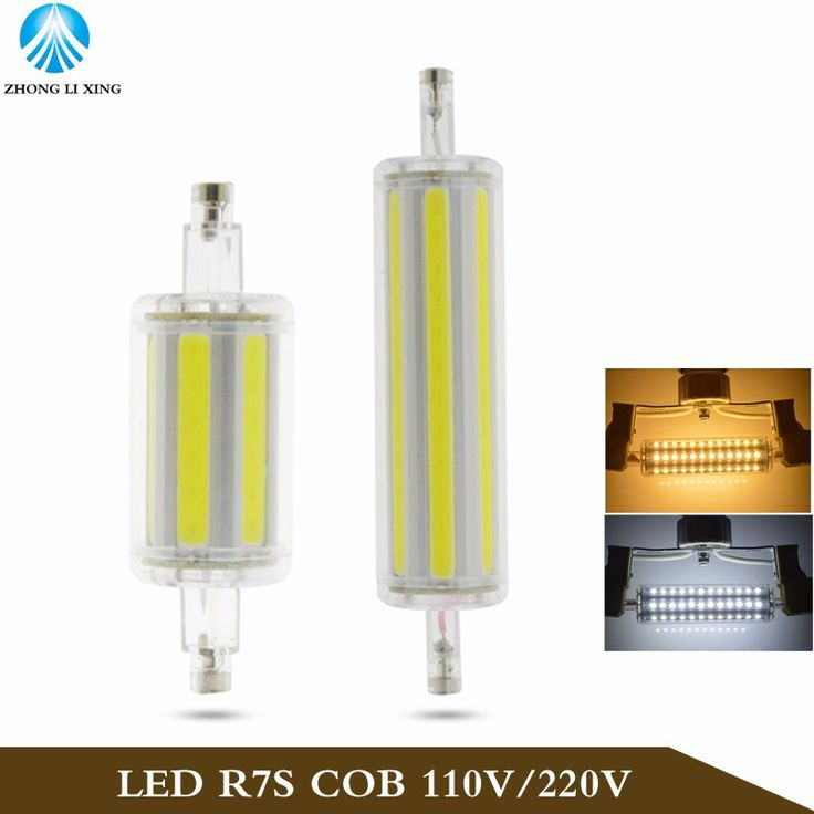 Ampoule led r7s 78mm dimmable simple dimmable w w w w mm mm mm mm smd corn bulbs ww cw aluminum - Ampoule led r7s 78mm ...