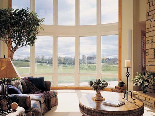 Window Designs: Casements & More : Interior Remodeling : HGTV RemodelsBays Windows, Design Ideas, Bows Windows, Interiors Design, Casement Windows, Windows Shades, Windows Design, Room, Trees Windows