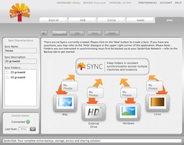 SpiderOak / Her şeyi mükemmel olmayan ancak birçok özelliği barındırmasını istediğiniz bir bulut paylaşım uygulaması varsa, SpiderOak bu seçeneklerden birini oluşturabilir. Özellikle dosya şifreleme özelliğiyle öne çıkan uygulama 2 GB ücretsiz depolama alanı sunuyor.  http://sosyalmedya.co/bulut-depolama-servisleri/9/
