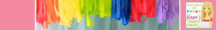 Crepe Paper Streamers - Decorations