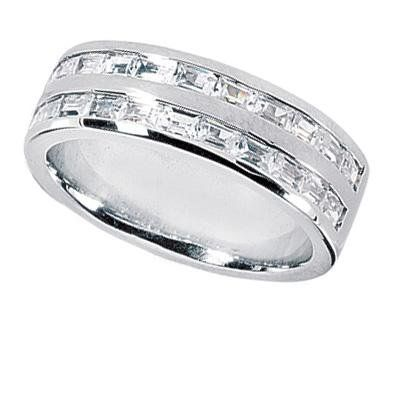 Diamond Eternity Rings | Mens Diamond Eternity Wedding Bands Men Diamond Wedding Bands-The ...