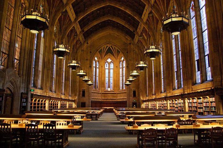 Suzzalo Library at the University of Washington – Seattle, Washington