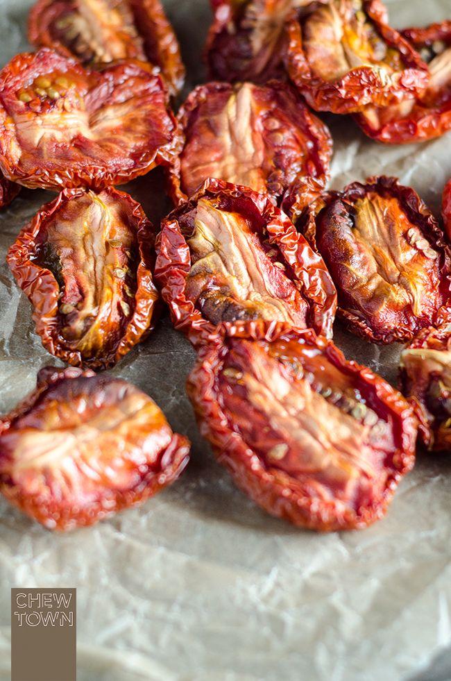 Semi-Dried Tomatoes Recipe   Chew Town Food Blog