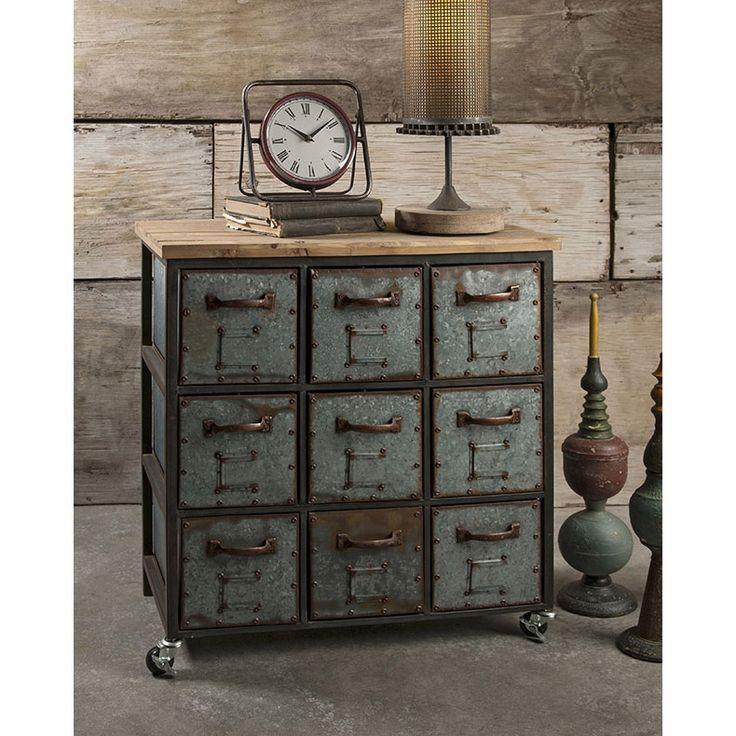 Franklin Steampunk Dresser Unique Modern Furniture Dot