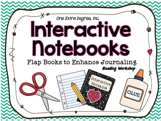One Extra Degree: An Interactive Notebook for Reader's Workshop