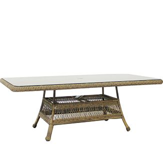 """Refresh Rec. Dining Table BY CASUALIFE D 45"""" or 66"""" W 86"""" or 100"""" H 30""""  Savannah"""