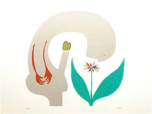 A Rare Plant - Walter Battiss