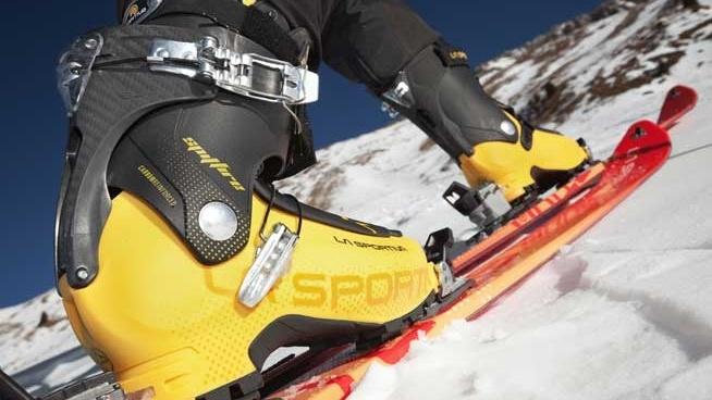 La Sportiva' Spitfire and GTR Ski