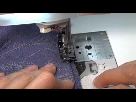 Как обработать низ чтобы юбка не мялась - YouTube