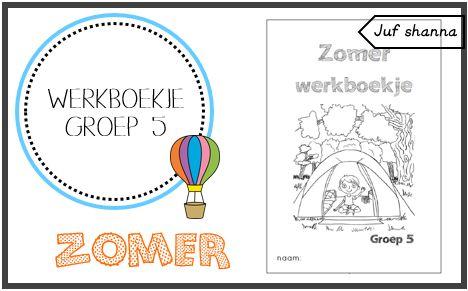 Thema zomer: werkboekje groep 5