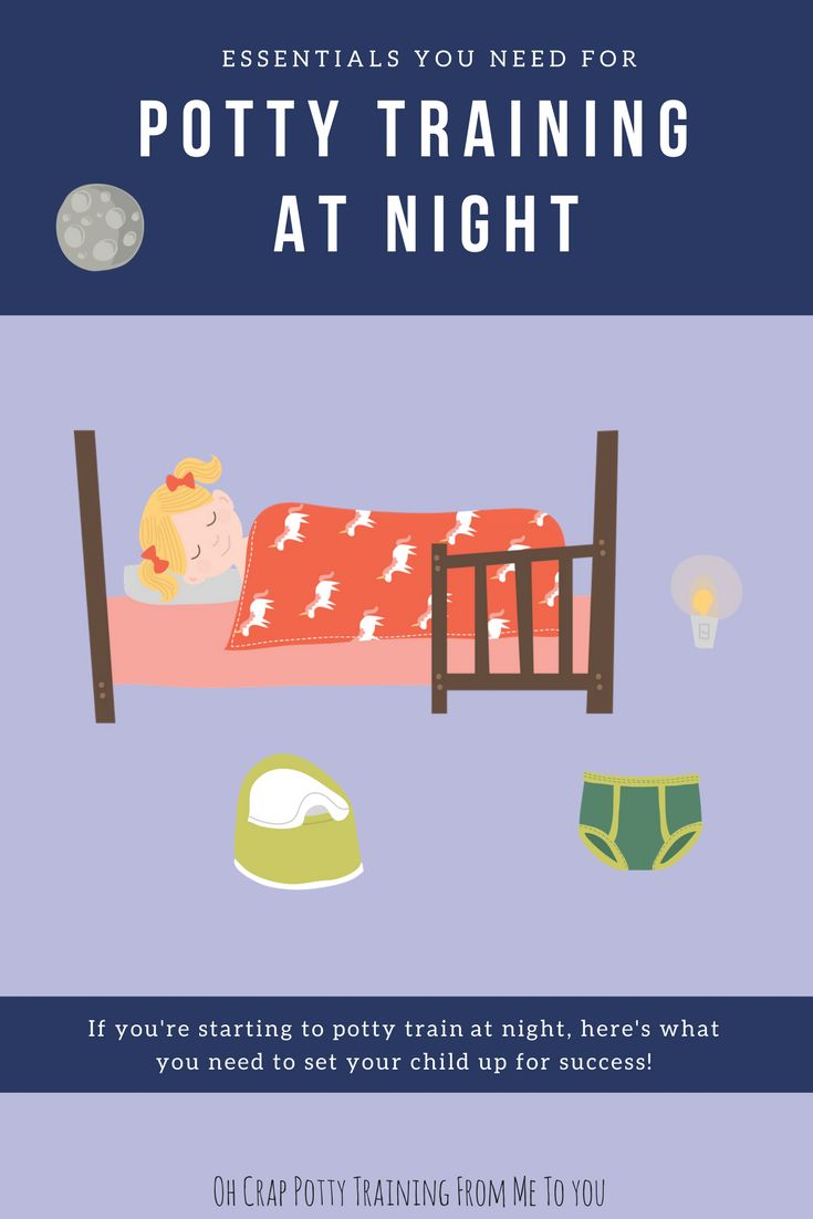 Must-Have Essentials for Potty Training at Night | Overnight Potty Training | Oh Crap Potty Training