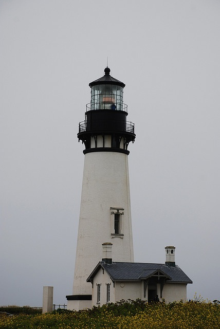 Yaquina Head Lighthouse--Oregon coast. I climbed to the top of this one.