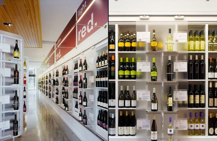 Восхитительный винный магазин Winestore в США
