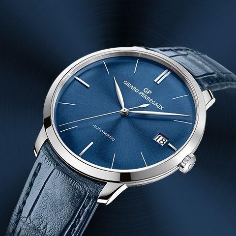 """La colección """"La Hora azul"""" de Girard-Perregaux 1966 representa una síntesis de elegancia y maestría."""