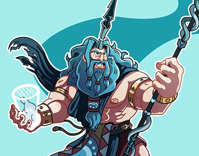 "Check out new work on my @Behance portfolio: ""Character Design Challenge: Poseidon"" http://be.net/gallery/31448329/Character-Design-Challenge-Poseidon"