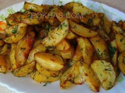 Cartofi noi la cuptor (Pokhas)