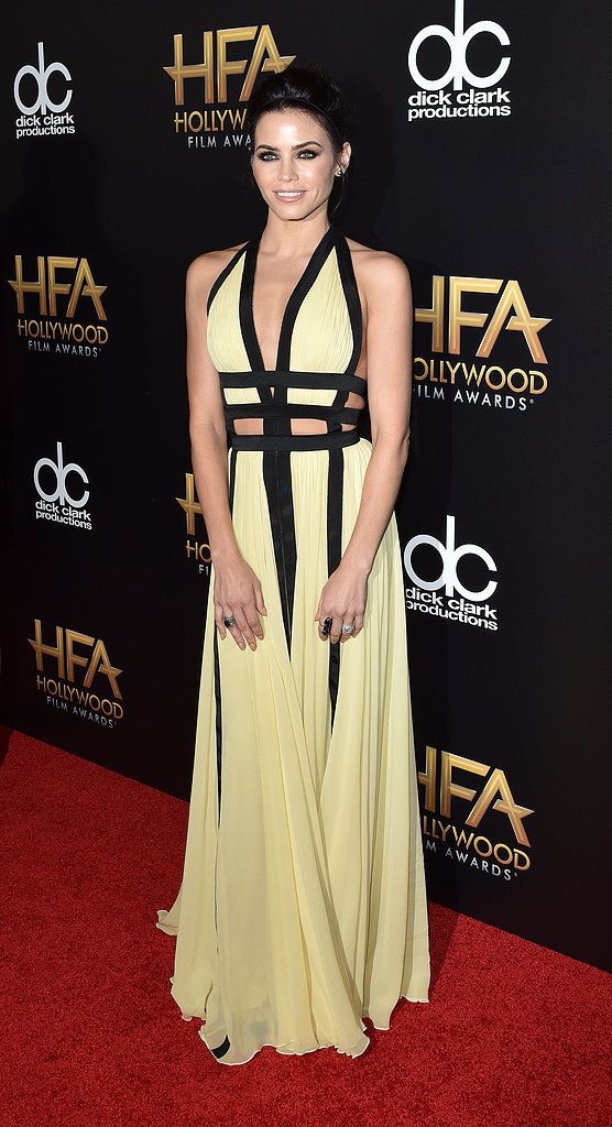 With These Gowns, You'd Be Forgiven For Thinking the Hollywood Film Awards Were a Fashion Party: Sure, the 2015 Hollywood Film Awards, held Sunday night at the Beverly Hilton Hotel in LA, were organized to salute work on the big screen.