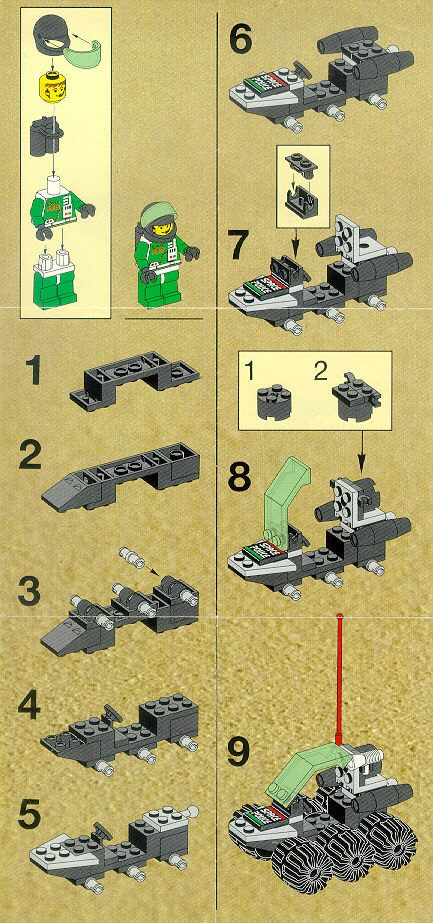 Old LEGO® Instructions | letsbuilditagain.com                                                                                                                                                                                 More