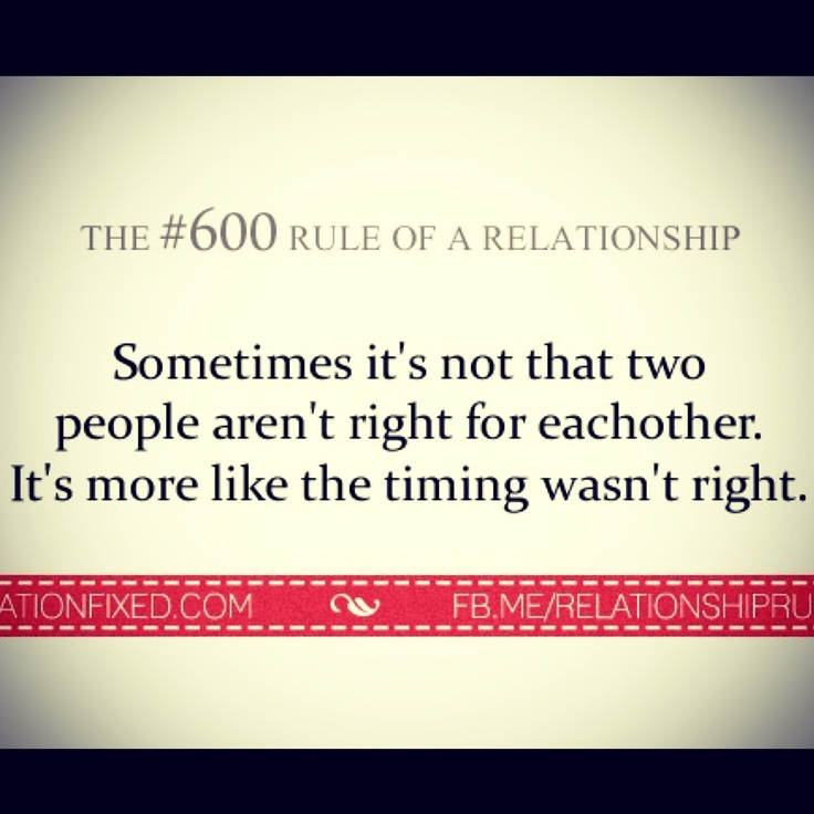 wrong time for a relationship quotes