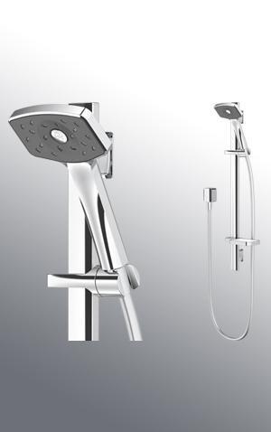 Waipori Satinjet Slide Shower