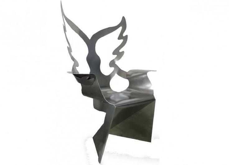 "Chair ""Angels embrace"" designer Alexander Shvets. Dedicated To Lady Gaga."
