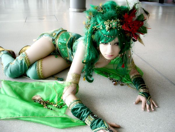 Rydia of Mist (Final Fantasy IV) cosplay